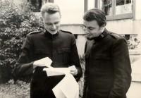 Captains Larsson and Gowans