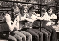 Blood & Fire (l-r Simon Barnett, Karl Allison, Simon Herbert, Alvin Allison, Marc Harry)