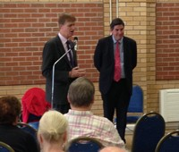 Stephen Timms MP with Rob Flello MP