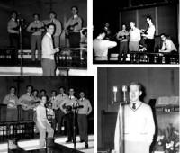 Eltham College recording studios, 1962