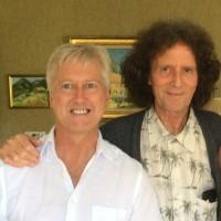 Steven with Gilbert O'Sullivan