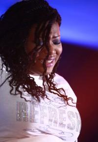 Psalmist Raine:  A gospel singer with a spontaneous, Spirit-given album