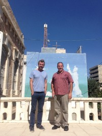 Paul Calvert and Nizar Shaheen