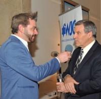 Paul Calvert interviewing Chris Mitchell