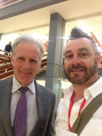 Michael Oren with Paul Calvert