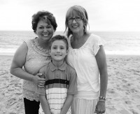 Tricia, Wesley, Trish (Two mothers, one well-loved little boy!)