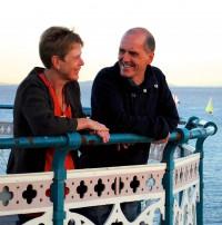 Jill and Gwyn Harding-Jones
