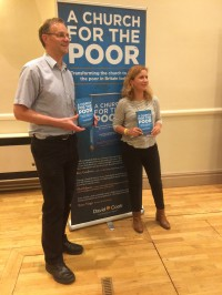 Authors Martin Charlesworth and Natalie Williams at the book launch
