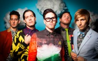 Family Force 5 (L to R): Hollywood (Teddy Boldt), Nadaddy (Nathan Currin), Crouton (Jacob Olds), Fatty (Joshua Olds), Chap Stique (Derek Mount) (Photo: Eric Brown)