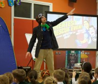 Michael J Tinker: The British musician breathing new life into children's work