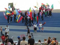 Worship with flags