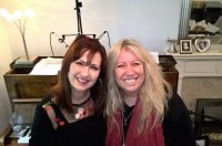 Helen with Judie Tzuke