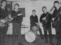 1963 Seekers: John Boyes, Tony Matthias, Eric Knowles, John Millington, Eddie Boyes