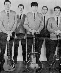 1964 John Boyes, Eric Knowles, Eddie Boyes, Tony Matthias, John Millington