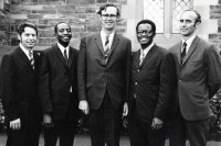Early African Enterprise team, Michael Cassidy centre