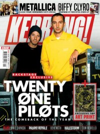 Kerrang Front Page