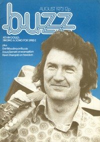 Kevin makes cover of Buzz, 1973