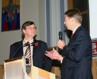 Chris Girdler with MP Gary Streeter