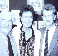 (l-r) Bill Hamilton, Cliff Richard, Ian Hamilton