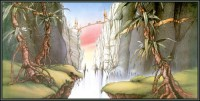 In Search of Forever: One of Rodney Matthews' most famous illustrations
