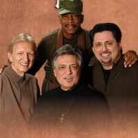 The Imperials 1972: l-r Terry Blackwood, Joe Moscheo, Sherman Andrus, Armond Morales