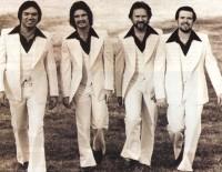 The Imperials 1976: l-r Armond Morales, Russ Taff, David Will, Jim Murray