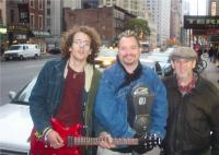 Rob Halligan: The singer/songwriter films video in New York City