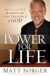 Product Image: Matt Sorger - Power For Life