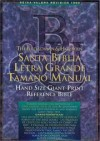 B&h Espanol Editorial Sta - Santa Biblia Letra Grande Tamao Manual