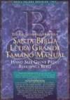 B&h Espanol Editorial Sta - The Broadman and Holman Santa Biblia Letra Grande Tamano Manual: