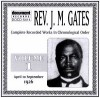 Product Image: Rev J M Gates - Complete Recorded Works In Chronological Order Vol 1: 1926