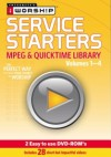 iWorship - Service Starters MPEG & Quicktime Library Vol. 1-4