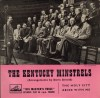Product Image: The Kentucky Minstrels - The Holy City/Abide With Me