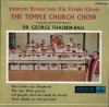 Product Image: Temple Church Choir, Dr George Thalben-Ball - Favourite Hymns From The Temple Church