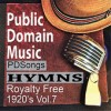 Product Image: Public Domain Music - PD Songs: Hymns