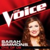 Product Image: Sarah Simmons - One Of Us (The Voice Performance)