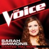 Product Image: Sarah Simmons - Wanted You More (The Voice Performance)