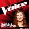 Product Image: Sarah Simmons - Wild Horses (The Voice Performance)