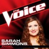 Product Image: Sarah Simmons - Angel (The Voice Performance)