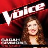 Product Image: Sarah Simmons - The Story (The Voice Performance)
