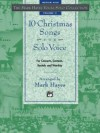 Product Image: Mark Hayes - 10 Christmas Songs For Solo Voice Medium High