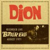 Product Image: Dion - Recorded Live At The Bitter End August 1971
