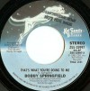 Product Image: Bobby Springfield - That's What You're Doing To Me