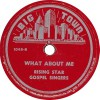 Product Image: Rising Star Gospel Singers - Brother Noah/What About Me