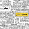 Product Image: AMP - Your Word