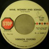 Product Image: Vernon Oxford - Wine, Women And Songs