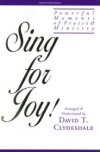 Product Image: David T Clydesdale - Sing For Joy!