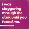 Product Image: Brightline - I Was Staggering Through The Dark Until You Found Me