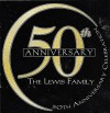 Product Image: The Lewis Family - 50th Anniversary