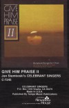 Product Image: Jon Stemkoski's Celebrant Singers - Give Him Praise II: Scripture Songs For Choir
